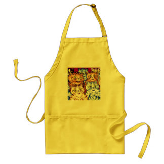 Cool Cats by Louis Wain Adult Apron