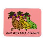 Cool Cats Graduate Premium Magnet