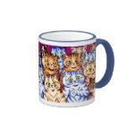 Cool Cats Mug by Louis Wain
