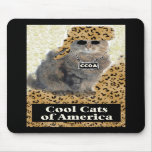 Cool Cats of America Mouse Mats
