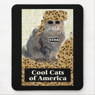 Cool Cats of America Mouse Pad