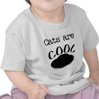 Cool Cats Paw Print T-shirts