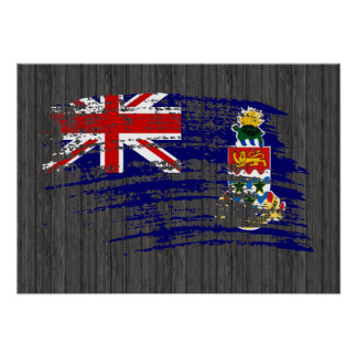 Cool Caymanian flag design Poster
