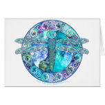 Cool Celtic Dragonfly Card