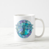 Cool Celtic Dragonfly Coffee Mug