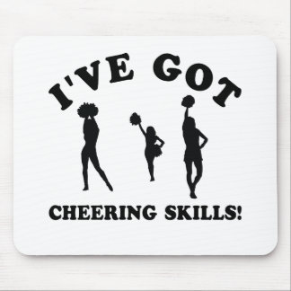 cool cheering skills mouse pad