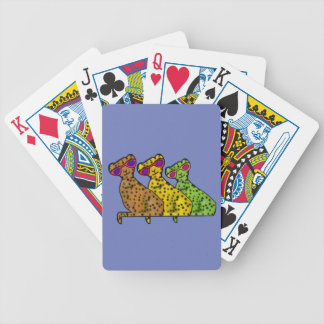Cool Cheetah Cats Playing Cards