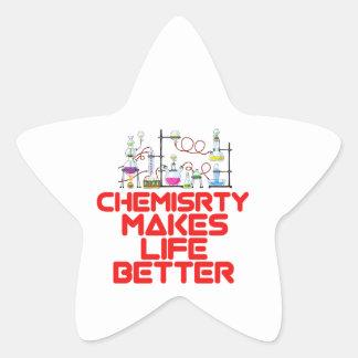 Cool Chemistry designs Star Sticker