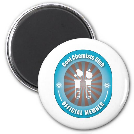 Cool Chemists Club 2 Inch Round Magnet