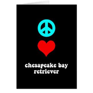 Cool Chesapeake Bay Retriever Card