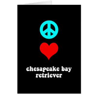 Cool Chesapeake Bay Retriever Cards