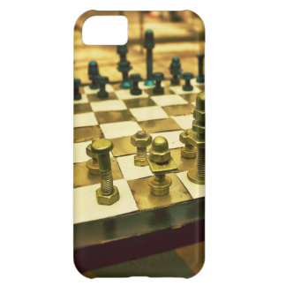 Cool Chess Board with Nuts and Bolts iPhone 5C Cover