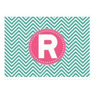 Cool Chevron R Postcard