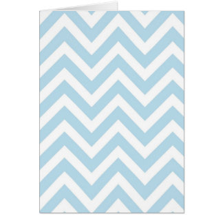 Cool Chevron Turquoise Towels Design Card