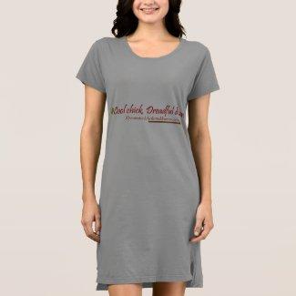 Cool chick, dreadful disease T-shirt dress