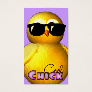 Cool Chick Fun Profile Cards