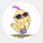 Cool Chick sticker