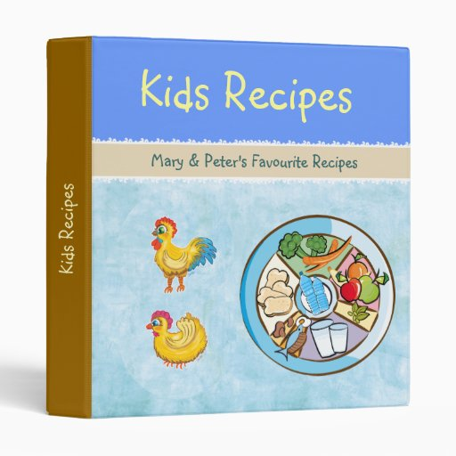 Cool Chickens and Food Wheel - binder
