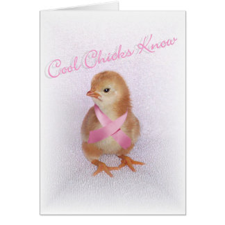 Cool Chicks Know Card