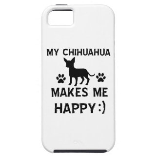 Cool Chihuahua dog breed designs iPhone SE/5/5s Case