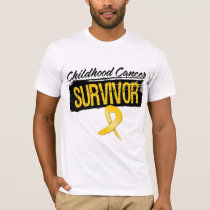 Cool Childhood Cancer Survivor T-Shirt