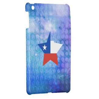 Cool Chile Flag Star Cover For The iPad Mini