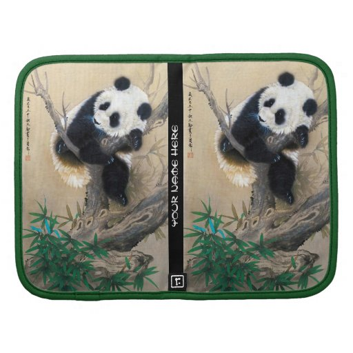 Cool chinese cute sweet fluffy panda bear tree art organizers