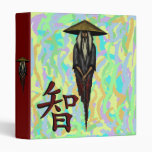 Cool Chinese monk character for wisdom binder