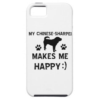 Cool Chinese Sharpei dog breed designs iPhone 5 Covers