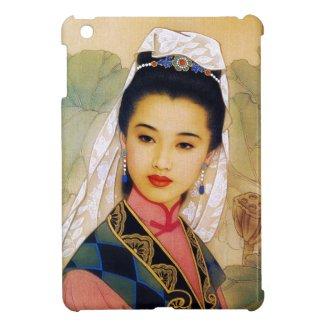Cool chinese young beautiful princess Guo Jing iPad Mini Cover