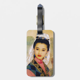 Cool chinese young beautiful princess Guo Jing Tag For Luggage