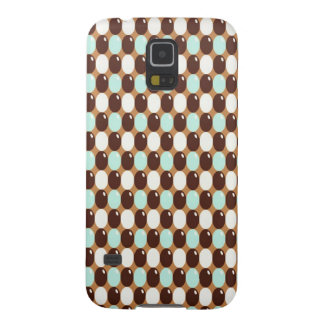 Cool chocolate mint round candy pattern galaxy s5 covers