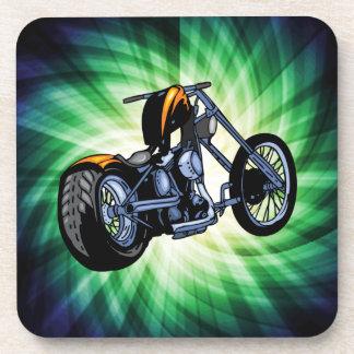 Cool Chopper Beverage Coaster