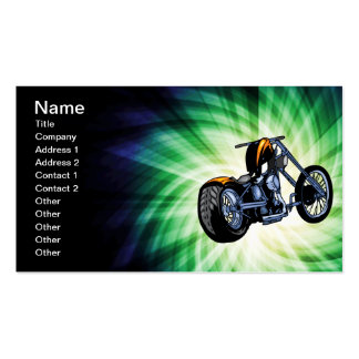 Cool Chopper Double-Sided Standard Business Cards (Pack Of 100)