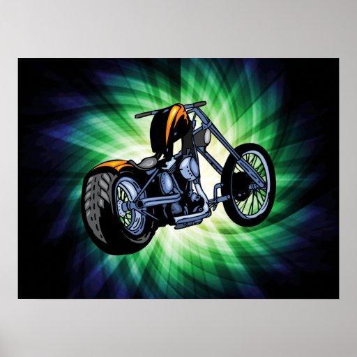 Cool Chopper Poster