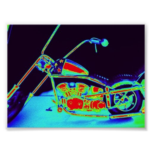 cool chopper print