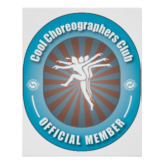 Cool Choreographers Club Poster