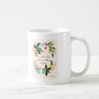 Cool Christian Art - Acts 17:28 Coffee Mug