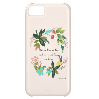 Cool Christian Art - Acts 17:28 Cover For iPhone 5C