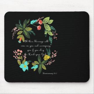 Cool Christian Art - Deuteronomy 28:2 Mouse Pad