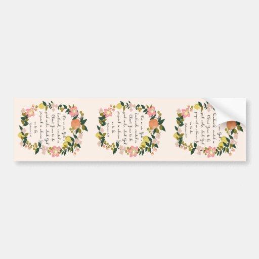 Cool Christian Art - Ephesians 2:10 Bumper Sticker