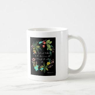 Cool Christian Art - Ephesians 4:6 Coffee Mug