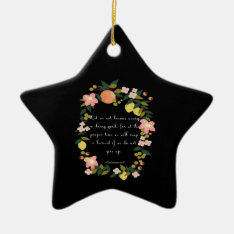 Cool Christian Art - Galatians 6:9 Ceramic Ornament at Zazzle