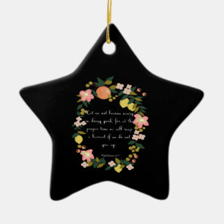 Cool Christian Art - Galatians 6:9 Ceramic Ornament