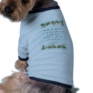 Cool Christian Art - Luke 11:13 Pet Clothes