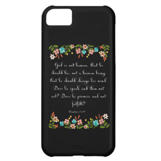 Cool Christian Art - Nahum 23:19 Case For iPhone 5C