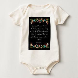 Cool Christian Art - Nahum 23:19 Baby Creeper