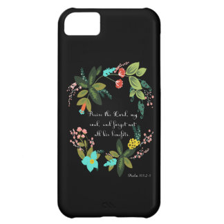 Cool Christian Art - Psalm 103:2-3 iPhone 5C Cover