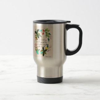 Cool Christian Art - Psalm 139:13 Travel Mug