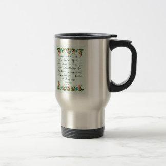 Cool Christian Art - Psalm 139:1-3 Travel Mug